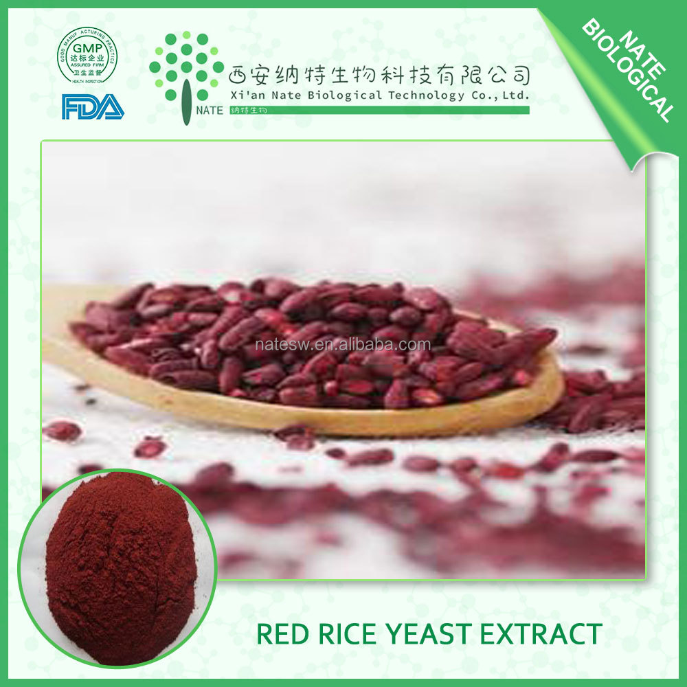 China factroy supply Lovastatin Red Kojic Rice Red Yeast Rice with 1.5% Lovastatin