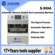 SUNSHINE cell phone automatic touch screen lcd glass laminating machine for broken lcd repair