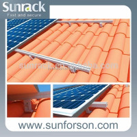 Home Solar System Pitched Roof Solar Panel Mount