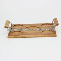6 pcs set Bamboo or Wooden tea tray tea table