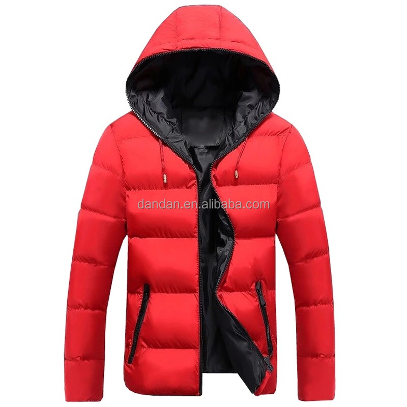 men's unique light weight inner lining padded jacket