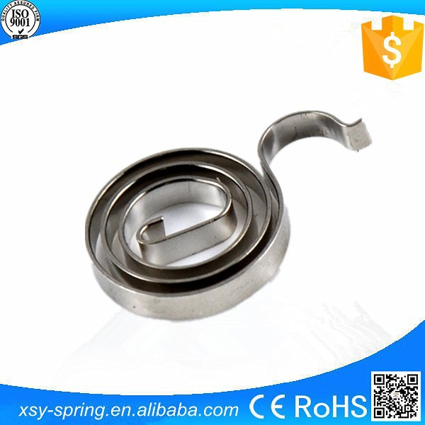 SS301 powerful shiny constant force composite coil spring