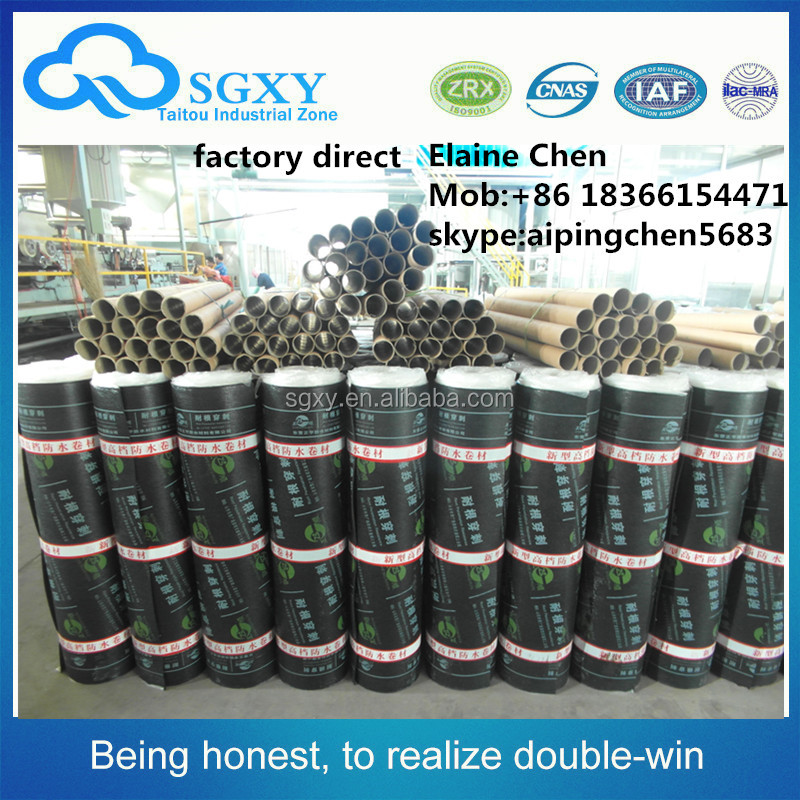 factory direct SBS modified bitumen waterproof membrane quality assured
