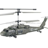 U1 Blackhawk RC Helicopter Craft Model