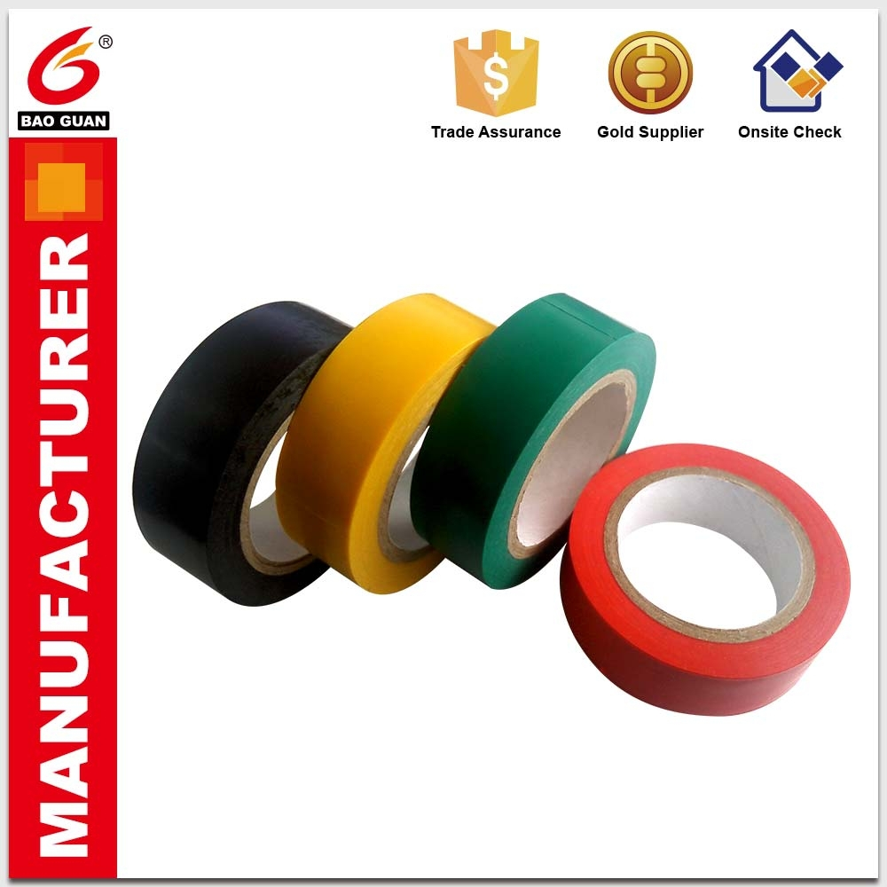 Soft texture and High temperature resistance PVC electrical tape