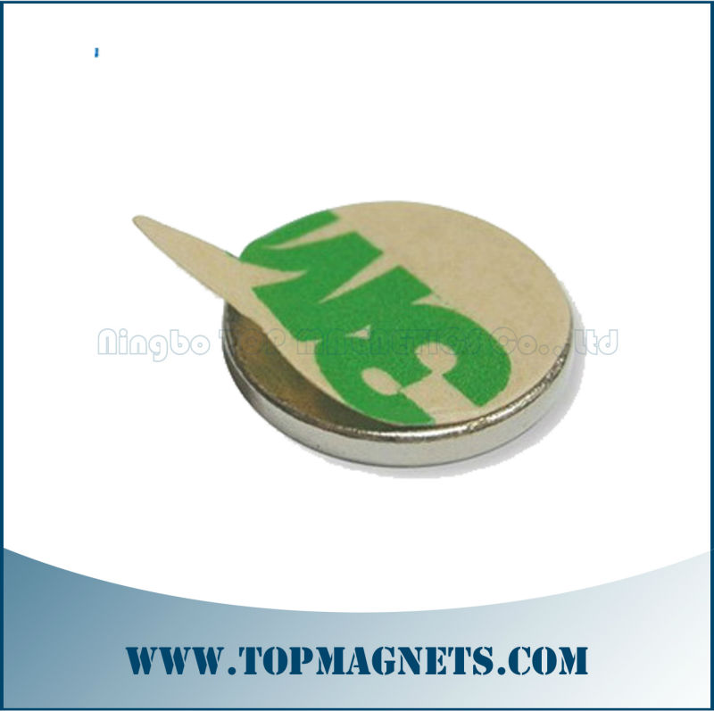 Disc Magnet with adhesive