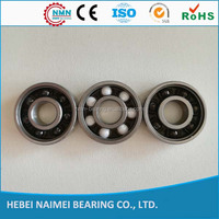 Low friction hybrid ceramic ball bearings 608 ceramic roller bearings chrome steel