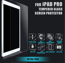 HD clear liquid screen protector 9H hardness tempered glass film for IPAD mini ,Air ,Pro
