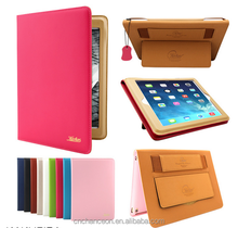 2015 Best selling new style genuine leather case cover for ipad 2/3/4/ 5/6 ipad mini 2/3/4 CO-LTC-316