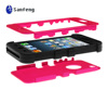 Wireless high qulaity creative smartphone case for iphone5 pc silicone case