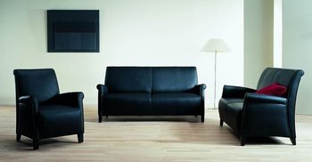 office leather sofa,lobby sofa