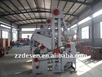 Automatic combined rice mill