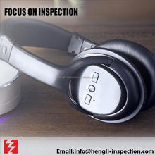 china shenzhen wireless headphone third party control quality inspection service