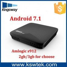 High speed Android tv box KODI 17.0 Octa core Mini M8S PRO Bluetooth 4.1+HS install google play store android tv box