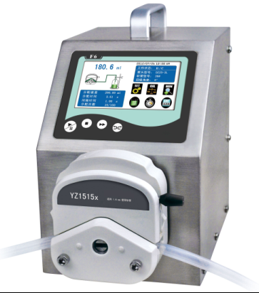 Intelligent calibration function, suitable for high precision liquid filling Dispensing Peristaltic Pump DPP-F6 Series