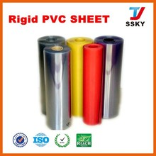 Rigid plastic PVC laminate sheet