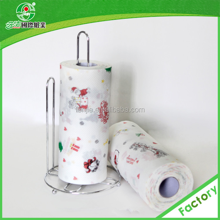 napkin paper roll christmas wholesale kitchen towel