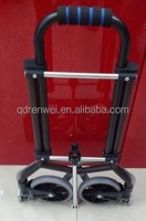 Aluminum Mini Folding Luggage Cart/Lightweight Luggage Trolley