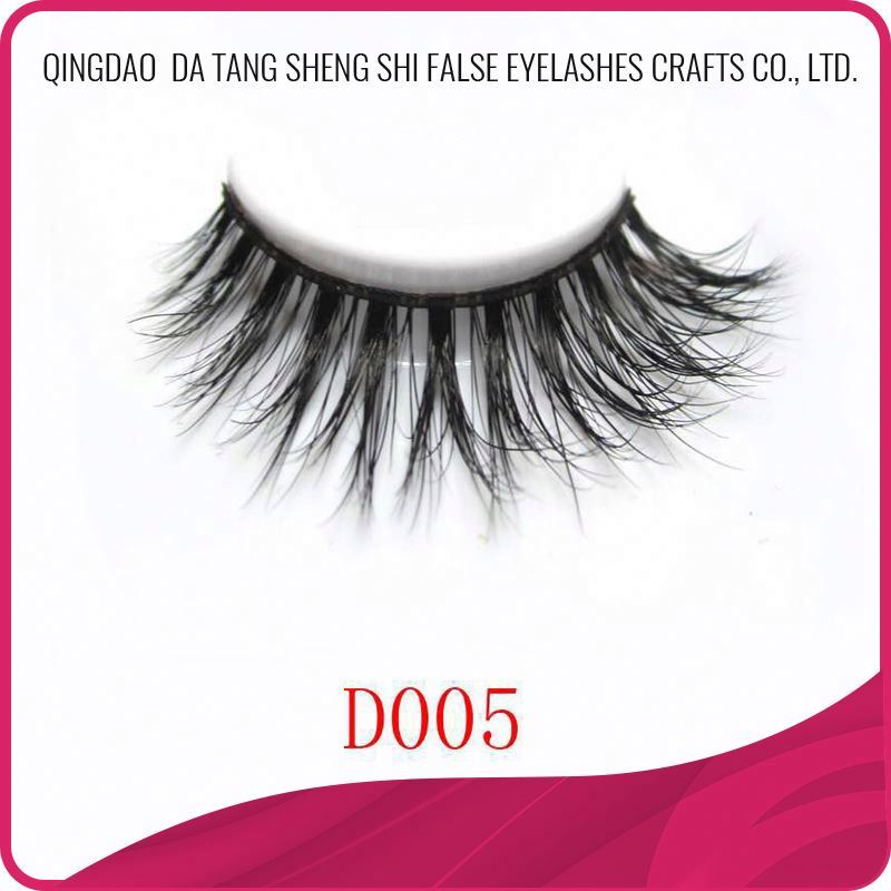 Natural glamorous luxury private label 3d mink lashes extension