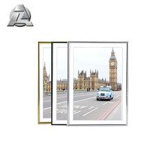 thin side 18x24 20x16 23x20 inch aluminum photo frame