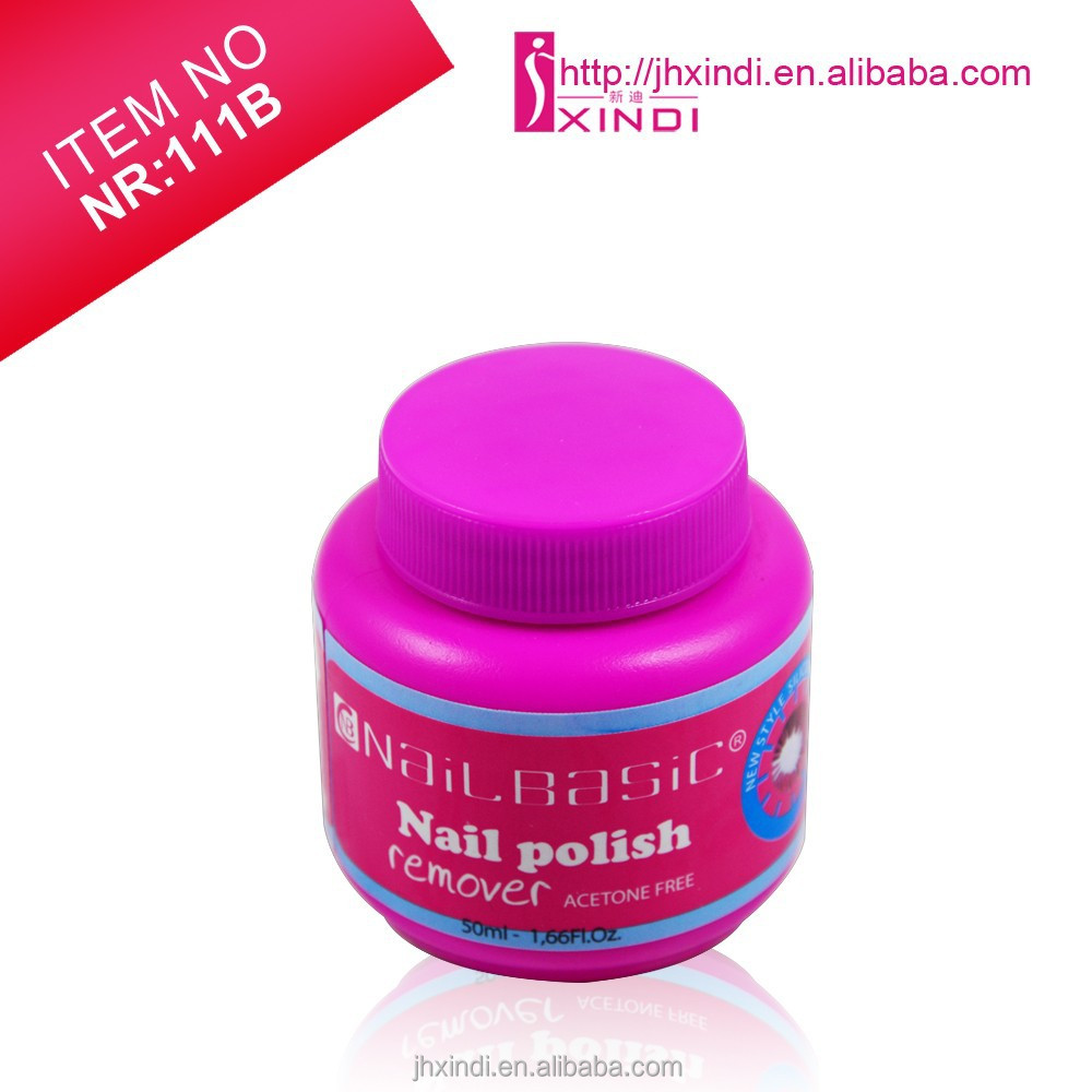 No sponge brush nail polish remover environmental protection