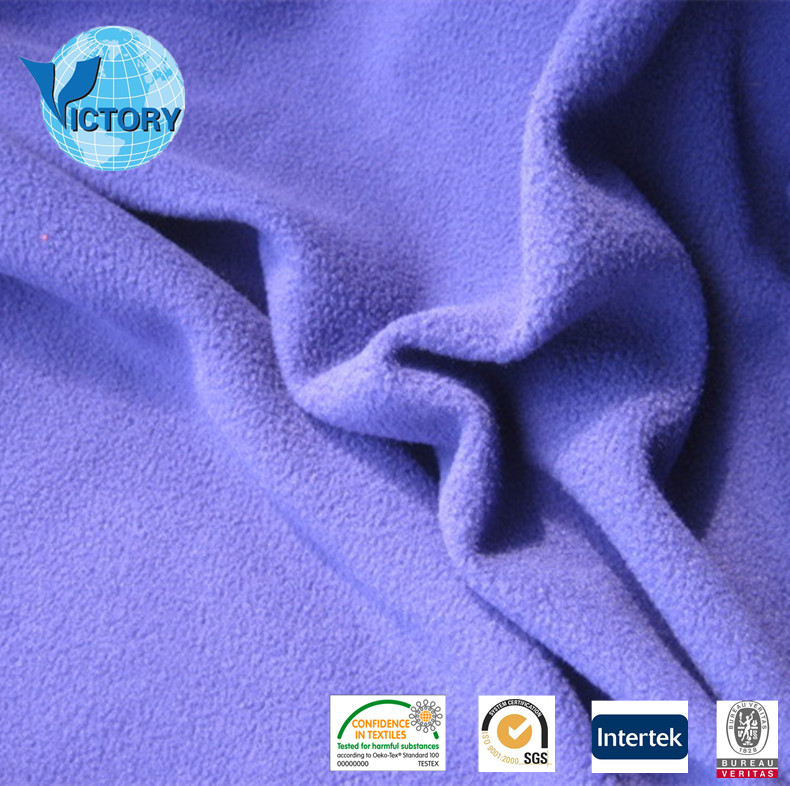 Alibaba Express 100% Polyester Polar Fleece With High Quality