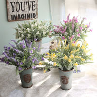 Imported plastic Grain flowers and plants Artificial flowers Home decoration wedding supplies GF16129B