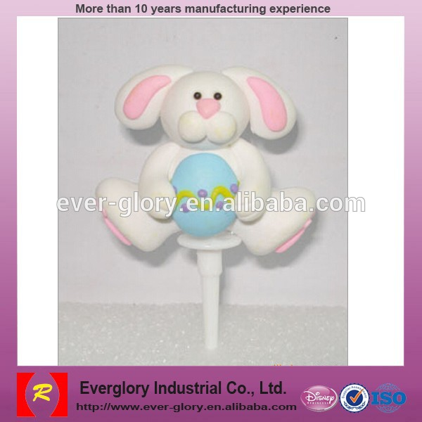 OEM Christmas decoration toys,plastic cake plug-in toys for promotion