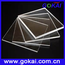 High grade plexiglass cover