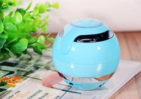 the Newly Bluetooth Speaker TF USB FM Wireless Portable Music speakers