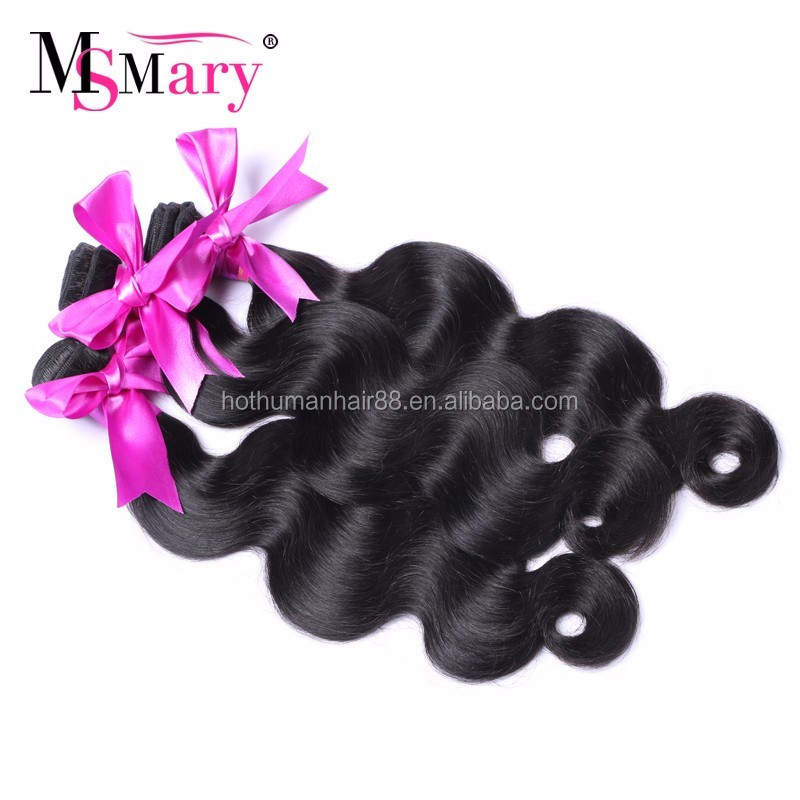 Remy Brazailian Human Hairs Extensions Wholesale Body Wave Bundles Best Selling Products 2017 USA Dropshipping For Women
