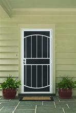 own factory made cheap price lowes wrought iron security doors