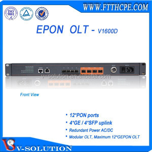 Modular OLT, Maximum 12*GEPON OLT from V-Solution
