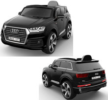 Electric Kids Ride On Toy Car 12V Power Wheels MP3 + RC Parental Remote Control Audi Q7