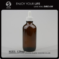 120ml empty essential oil glass diffuser bottle