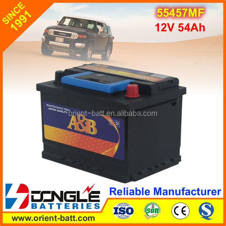 DOBA In Hot Sale Brands Car Battery Korea Quality