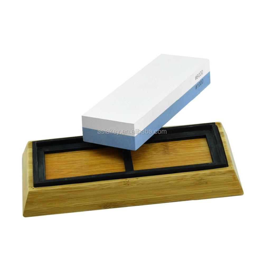 premium knife sharpening stone 2 side grit 1000 6000