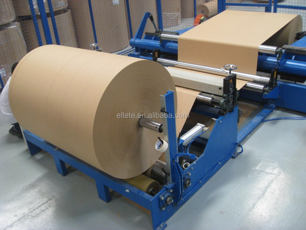 full automatic hydraulic paper cutter rewinder slitting machinery