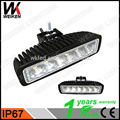 Cheap price 18w 12 volt flood beam waterproof 6inch tractor truck auto 4X4 kit car work light