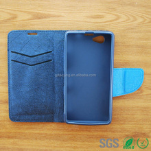PU leather cover for sony Z1 mini mobile phone case