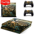 Cheap Price Sticker Skins Cover Wrap For PS4 Console Controller