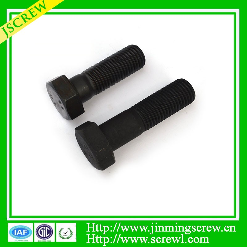 High tensile m12 stainless steel hex head bolt