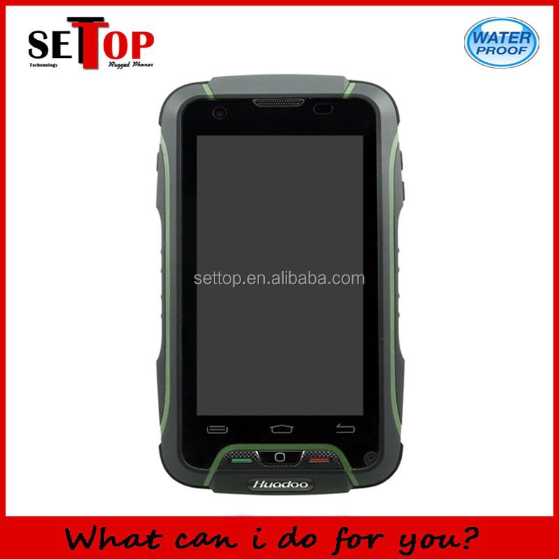 "Rugged 4"" Quad Core Android 4.4 Phone 3G Water Dust Shock Proof"