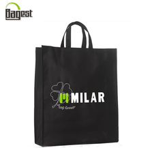 Black Color Super Market Used Promotional RPET Tote Bag for Shopping