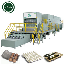 rotary egg tray pulp Full automatic egg tray forming machine