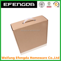 Personal Care Industrial Use and Glossy Lamination Printing Handling paper box packaging