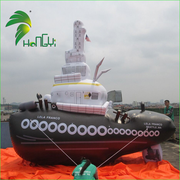 Good Quality Airtight PVC Inflatable Ship Model , Advertising Inflatbale Boat Replica For Events