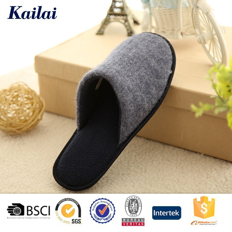 The unique classy hand knitted winter home slippers for men