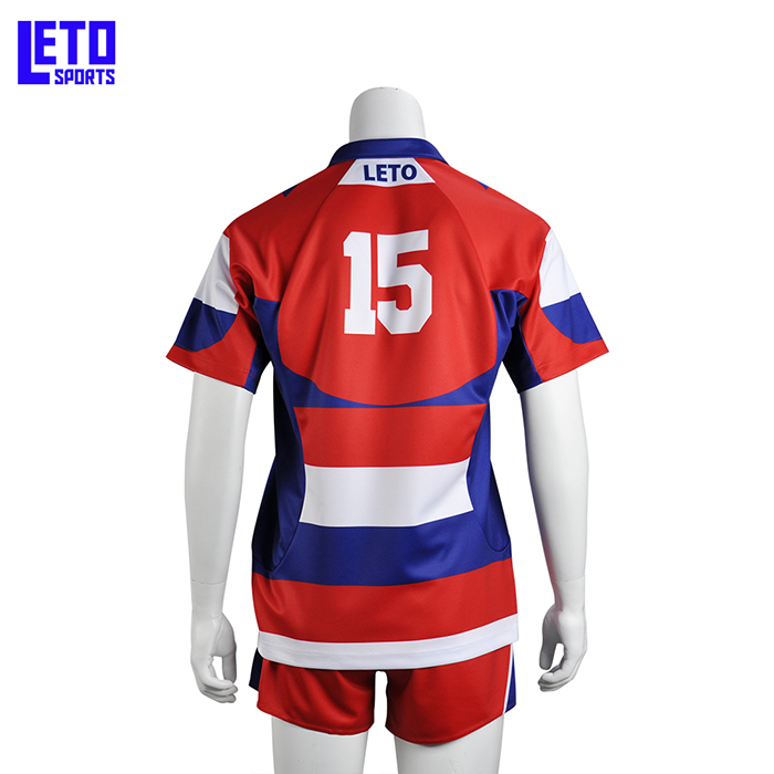 High End Cheap Fully Dye Print No Brand Bulk Design Your Own Training Rugby Football Wear