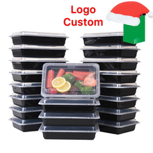 Single Compartment Bento Lunch Boxes with Lids Reusable Stackable Microwave Safe BPA Free Meal Prep Food Storage Containers
